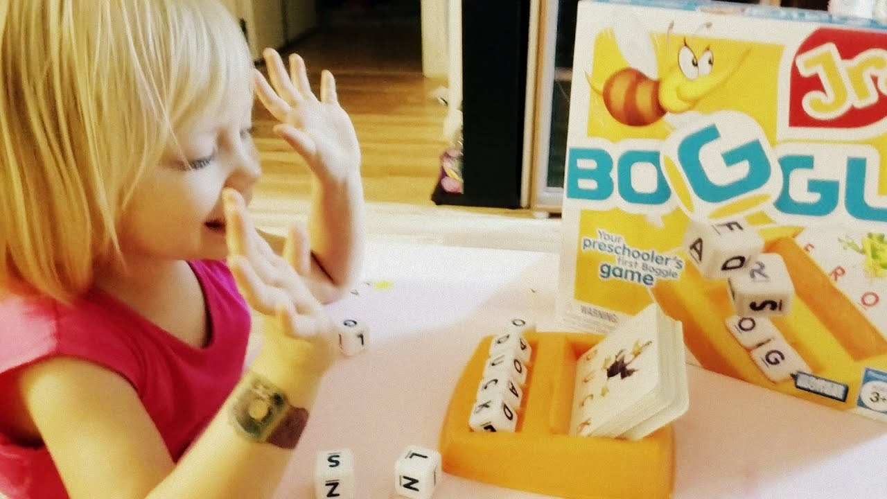 Boggle Jr 🐝 Review and Play Learning Letters & Spelling