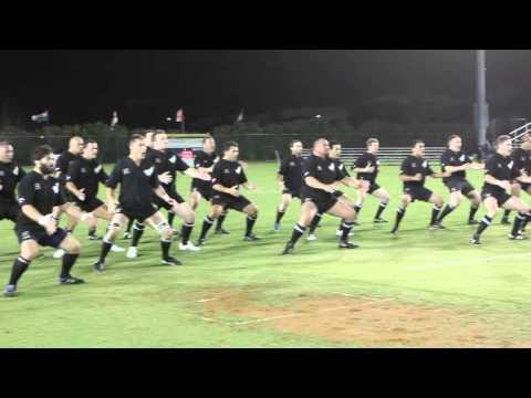 New Zealand All Blacks Rugby Haka, Bermuda 2011
