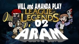 LoL ARAM (Will + Amanda) 02 -- Rune Brig [Pirate Ryze] [Dr. Mundo]