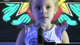 Милана Гогунская поет в 4 года