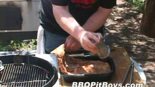 cola spare ribs with bbq beans