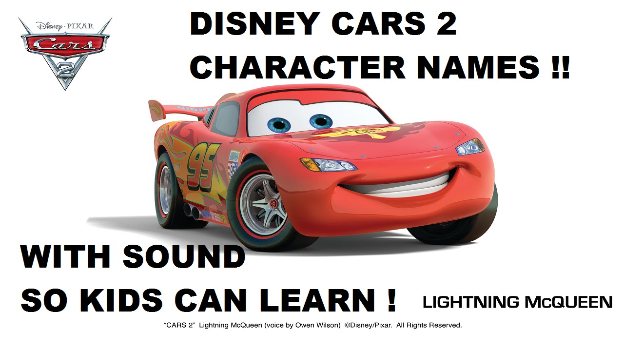 Cars 2 Cartoon Characters Names : Disney cars cartoon characters names adultcartoon