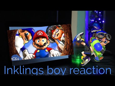 Plush Reactioninkling Boy Reaction To Smg4mario And The Well Youtube