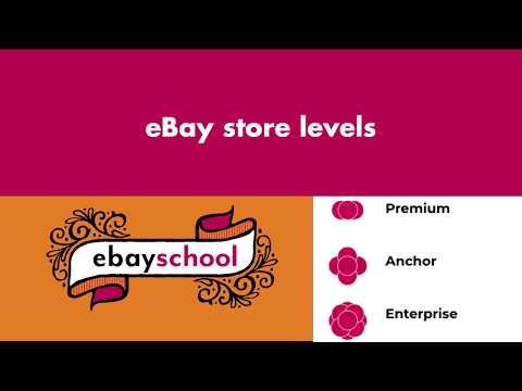 Ebay Store Levels Explained Youtube