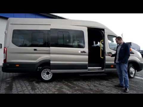 Ford Transit from POLSTER with electric door