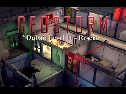 Let's Play GeoStorm - Dubai : Level 11 - Rescue