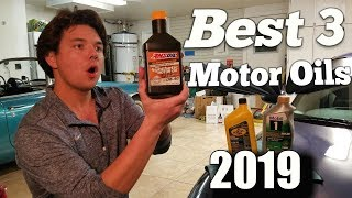 Top 3 Best Synthetic Motor Oils of 2019