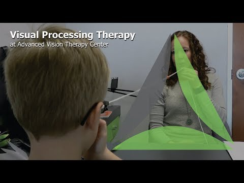 Visual Processing Therapy at Advanced Vision Therapy Center