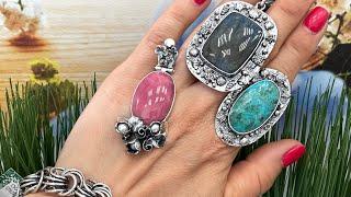 🔥ФИТ ЭТО ХИТ🔥встречаем новинки. Серебряные украшения с натуральными камнями
