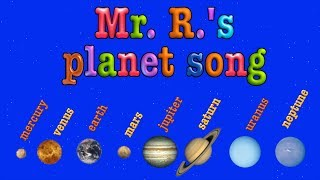 Planet Song- teach the order of the planets!