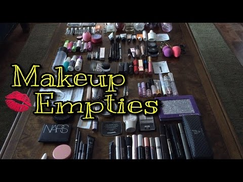 One Year of Makeup Empties! (2016)