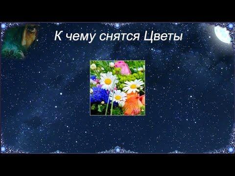 К чему снятся Цветы (Сонник)