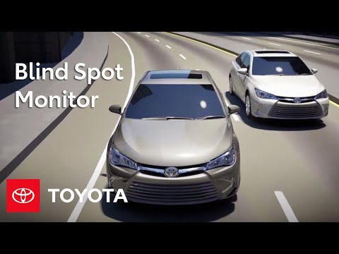 Toyota How-To: Blind Spot Monitor with Rear Cross Traffic Alert | Toyota