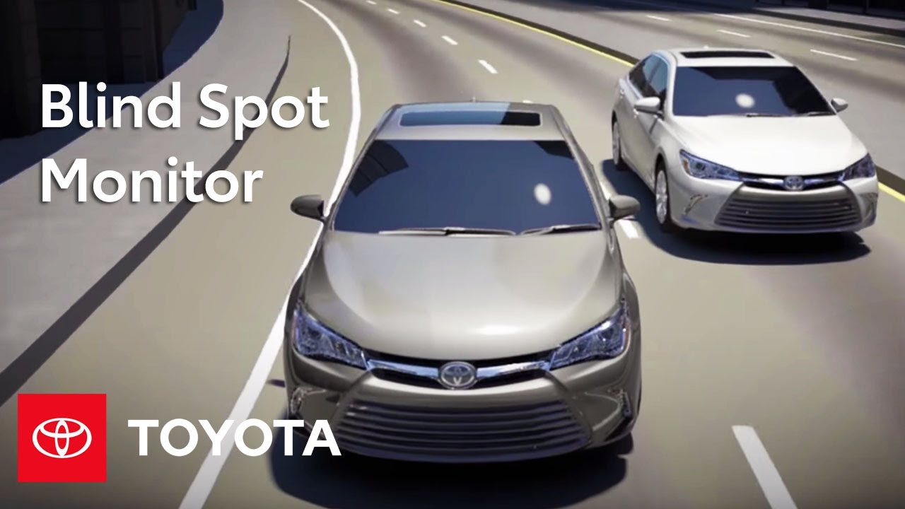 Toyota How To Blind Spot Monitor With Rear Cross Traffic
