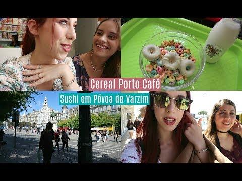 Fomos experimentar o Cereal Porto Café e o nosso restaurante de sushi favorito!