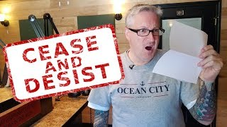 How to handle a Cease and Desist Letter - KEN HERON