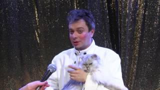 CATS SHOW: непослушные кошки Дмитрия Куклачёва покорили сердца даугавпилчан