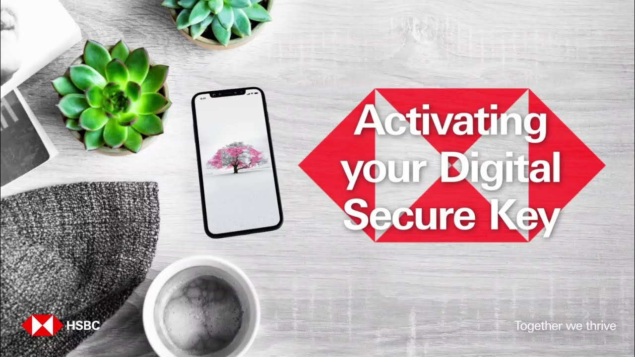 How to Activate your Digital Secure Key | HSBC Australia Mobile Banking