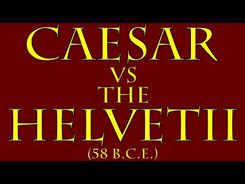 Caesar vs the Helvetii (58 B.C.E.)