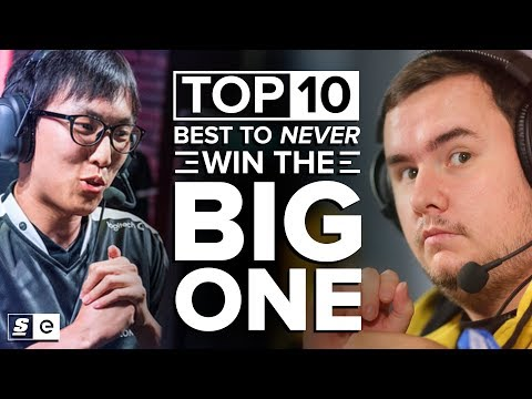 The Top 10 Players To Never Win The Big One