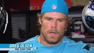 Panthers react to Greg Olsen's broken foot