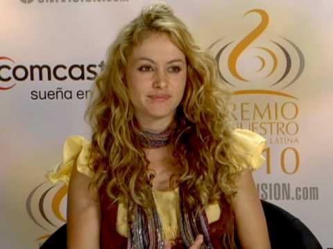 Chat Con Paulina Rubia - Univision.com 2010