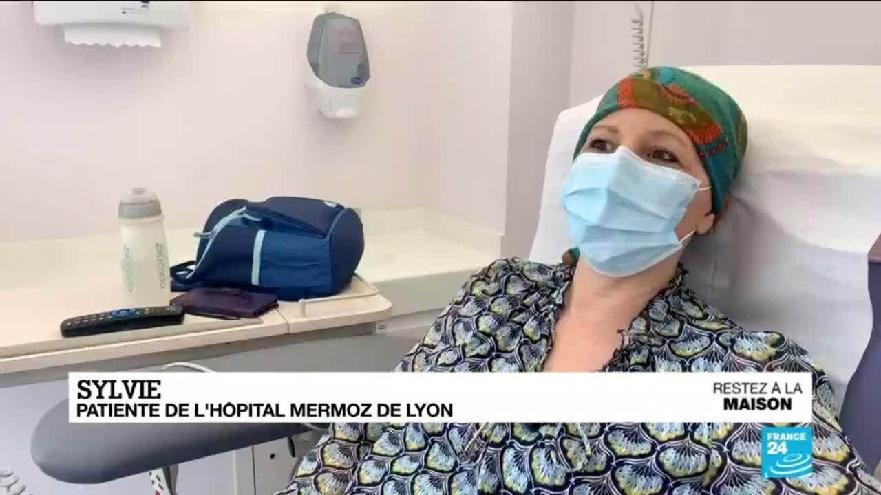 Au temps du coronavirus, l'inquiétude des patients des services d'oncologie