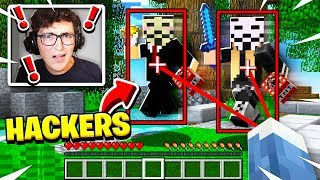 I Made A Hackers ONLY Minecraft Server