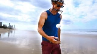 Juggling Percussion with Amazing Harmonica - Juzzie Smith