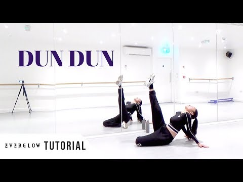 [FULL TUTORIAL] EVERGLOW (에버글로우) - 'DUN DUN' - Dance Tutorial - FULL EXPLANATION