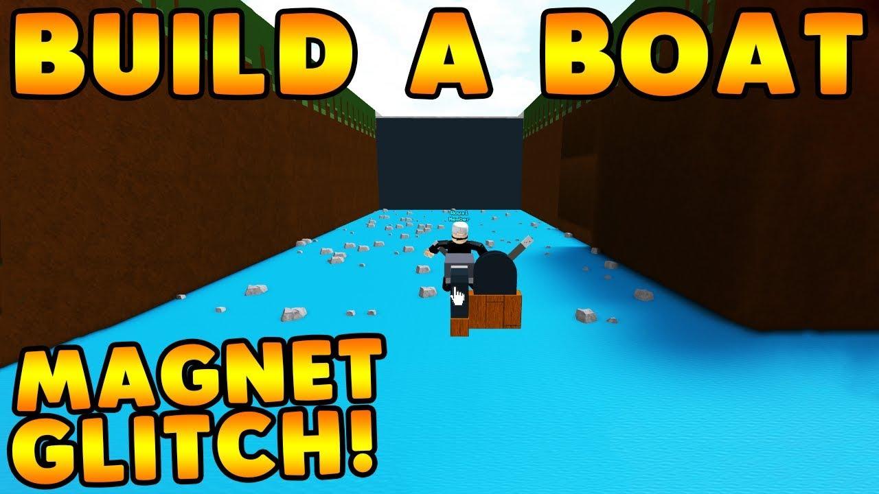 *NEW* MAGNET SPEED GLITCH!   Build A Boat For Treasure ROBLOX
