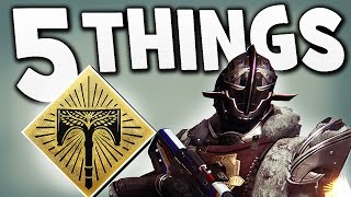 Destiny - 5 THINGS TO DO BEFORE RISE OF IRON !!