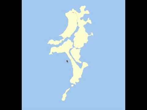 Name of 7 islands of mumbai 1845 land Reclamation Project