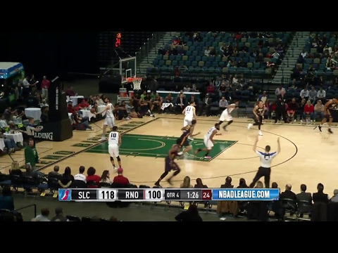 Salt Lake City Stars with 20 3-pointers against the Bighorns