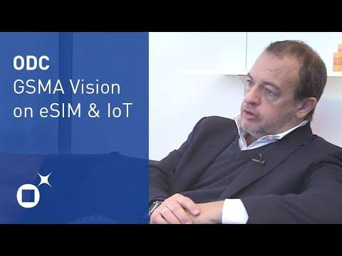 eSIM and Internet of Things - Interview with GSMA