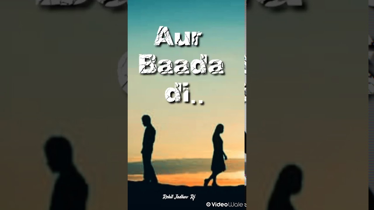 Gajab Ka Sad Shayari Attitude Boy Whatsapp Status Video ...