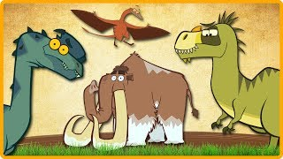 Prehistoric Dinosaurs | Learn Dinosaur Facts | Funny Dinosaur Videos For Kids | Educational Video