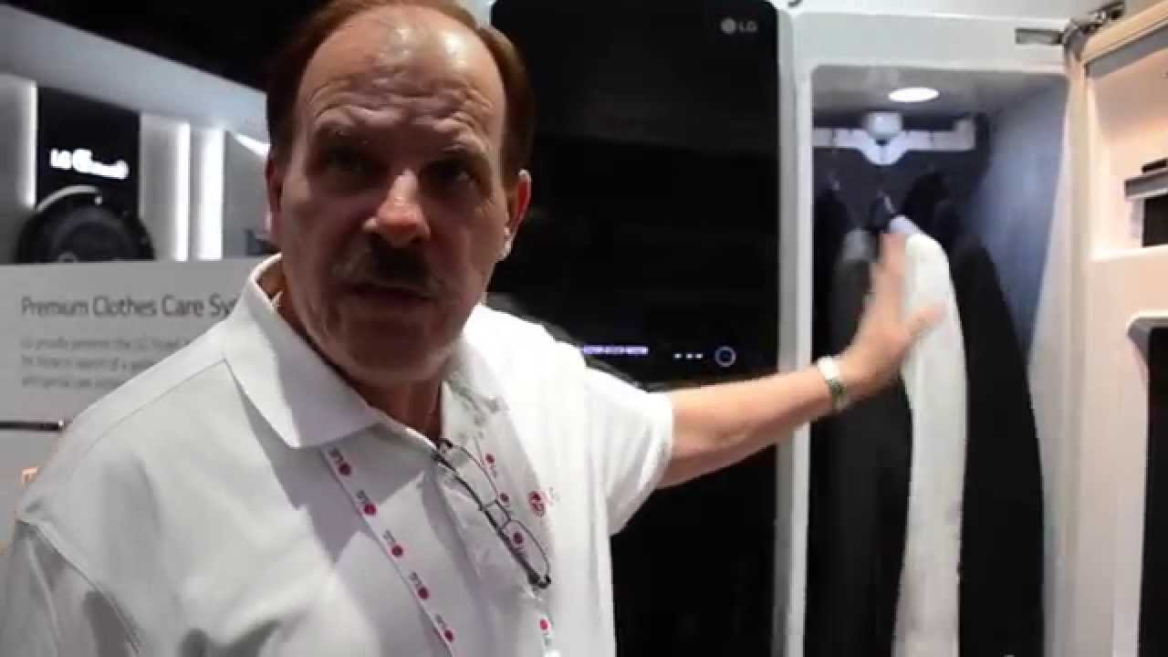 LG Steam Closet   CES 2015   YouTube