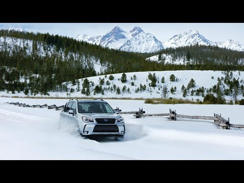 2018 Subaru Forester midrange crossover rules on wintry roads