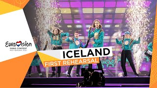 Daði og Gagnamagnið - 10 Years - First Rehearsal - Iceland 🇮🇸 - Eurovision 2021