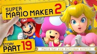 [ENDE] ALLE Aufträge erfüllt, Baumeister-Modus & Yamamuras Dojo 👷 SUPER MARIO MAKER 2 #19