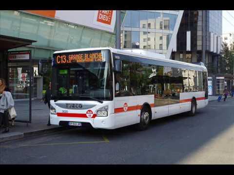 sound bus iveco bus urbanway 12 n 3020 du r seau tcl lyon sur la ligne c13 youtube. Black Bedroom Furniture Sets. Home Design Ideas