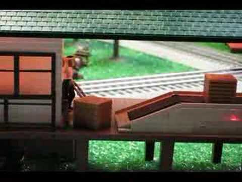 Clover Street O-Gauge Lionel Train Layout
