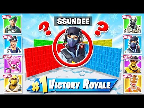 8 PLAYER Custom MEGA WALL WARS *NEW* Gamemode in Fortnite Battle Royale thumbnail