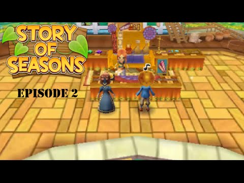 Let's Play Story of Seasons Episode 2 The Trade Depot