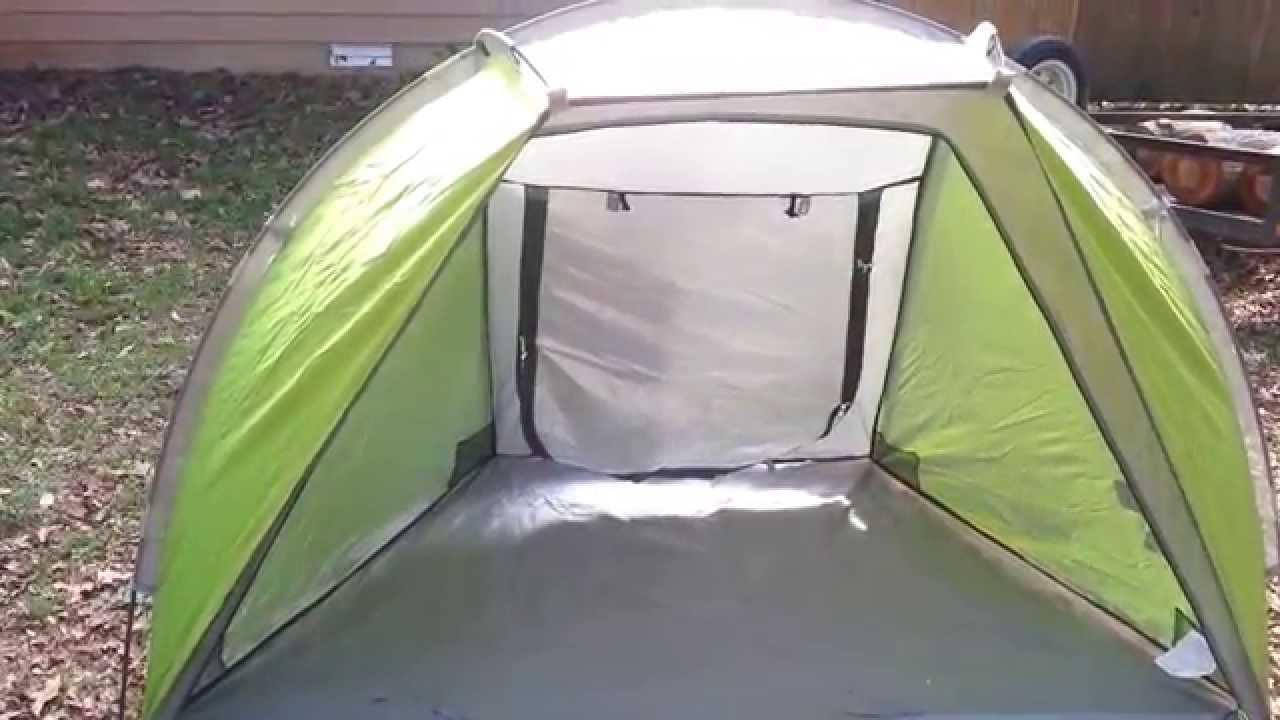 Coleman Beach Shade Review Setup