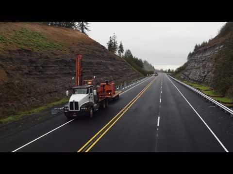 U.S. 20 Pioneer-Mountain Eddyville Route Flyover