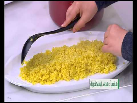 سمك مشوي مع ارز مدخن - مربي فراوله وكيوي - مكعبات البطاطس |على قد الأيد حلقة كاملة