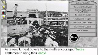 The Great Cattle Drives: Old Texas & the Trail Drivers Part 5 - American history