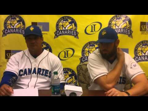 Sioux Falls Canaries Post-Game Press Conference 7/7/15